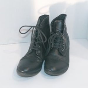 Steve Madden Leather Boots Size 6.5 EUC